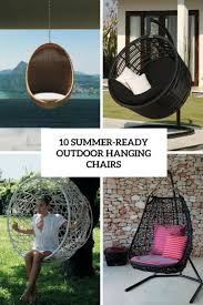Hanging Chair Outdoor Furniture Outdoor Furniture Archives Digsdigs