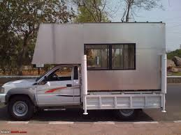 homemade pickup truck building a truck camper home away from home team bhp
