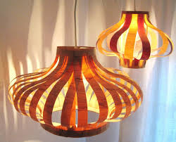 Wood Veneer Pendant Light Tutorial Veneer Pendant Lights Poppytalk