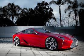 lexus lfa red lf lc could see life as 600hp mercedes fighter