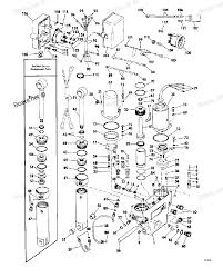 1979 115999r evinrude power tilt and trim diagram and parts