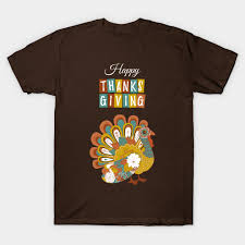 beautiful happy thanksgiving day turkey gobble design shirt