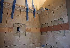 Installing Wall Tile Installing Bathroom Tile Photo 11 Design Your Home