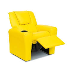 Yellow Recliner Chair Buy Kids Leather Recliner Chair Yellow Online In Australia