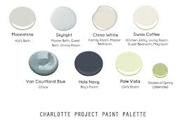 charlotte project paint color selection the estate of things
