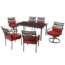 7 Pc Patio Dining Set Hampton Bay Middletown 7 Piece Patio Dining Set For 299 50 Shipped