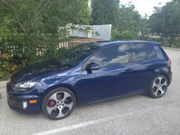 volkswagen gti blue new 2012 gti