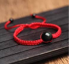 bead string bracelet images Black obsidian rainbow eye beads string bracelet chakras store jpg