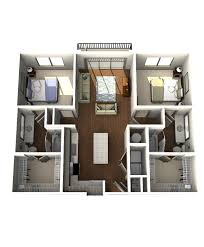 house design plans 3d 3 bedrooms floor plans crescent westshore