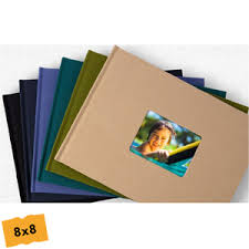 8x8 photo book 8x8 navy leather cover photo book