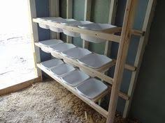 chicken nesting boxes made from dollar store bins chicken coop