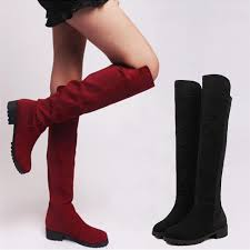 womens boots low heel aliexpress com buy womens boots fashion knee