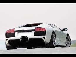 Lamborghini Gallardo Back - lamborghini murcielago lp640 white rear angle 1920x1440