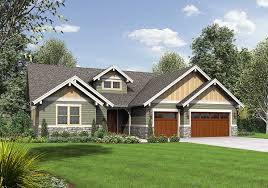 craftsman ranch plans plan 69579am attractive 3 bedroom craftsman ranch craftsman