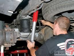 Dodge Ram 3500 Parts - 2005 dodge ram 3500 air suspension install diesel power magazine