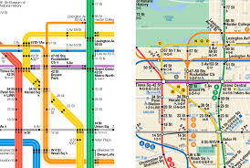 Subway Nyc Map The New York City Subway Map Redesigned U2013 Tommi Moilanen U2013 Medium