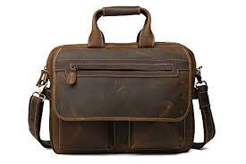 cuir pour bureau baigio sac en cuir sac à bandoulière sac de bureau sac pour