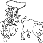 cowboy coloring pages 17 kids best of cowboys snap cara org
