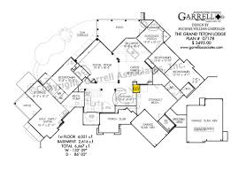 grand teton lodge house plan house plans by garrell associates inc