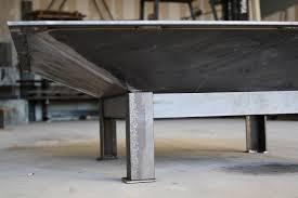 Steel Firepit Modern Steel Pit Outdoor Studio