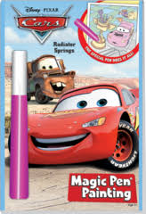 magic painting disney cars book zeb u0027s general store
