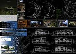 plain architecture design presentation sheets department of