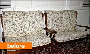 Vintage Settees For Sale Before U0026amp After Vintage Settee Makeover Apartment Therapy