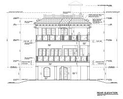 House Plans With Elevations And Floor Plans House Plan 71508 At Familyhomeplans Com