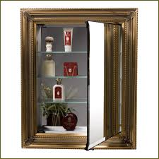 In Wall Bathroom Mirror Cabinets by Locking Medicine Cabinet Home Depot Best Home Furniture Decoration