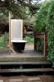 outdoor bathtub bathroom enjoying relaxing time in sensational outdoor bathtub