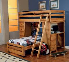 eye catching bunk beds for kids with stairs modern bunk beds design