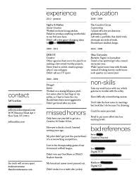 How To Build A Good Resume Examples by A Resume Of Failures Stands Out To Employers Business Insider