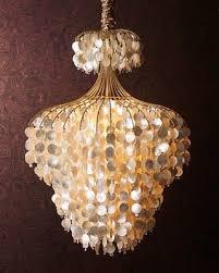 Capiz Shell Light Fixtures Best 25 Capiz Shell Chandelier Ideas On Pinterest Shell