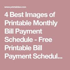 25 melhores ideias de monthly schedule template no pinterest