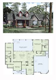 ranch floor plans ranch house plan 61297 total living area 1960 sq ft 3