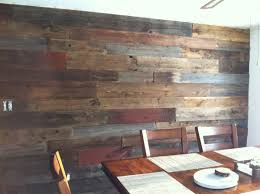 why is processed barn siding better for interior accent walls