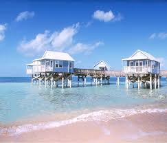 overwater villas in the caribbean