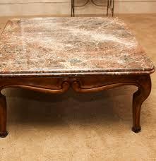 Henredon Coffee Table by Vintage Henredon Marble Top Table Ebth