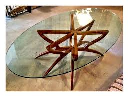 round glass coffee table tabletops tables legs shaped like a