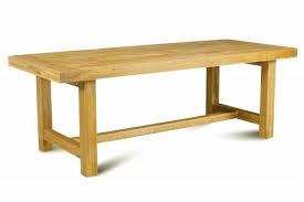 table cuisine chene tables séjour table de ferme 220 chêne bressane vente meuble en