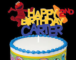 cookie monster birthday cake topper cookie monster centerpiece