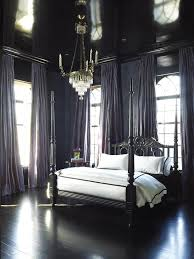 Black Poster Bed Black French Poster Bed French Bedroom