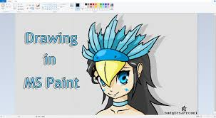 tutorial drawing in ms paint with a mouse ms paint youtube