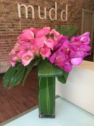 vanda orchids pink calla lilies and vanda orchids in chicago il mudd fleur