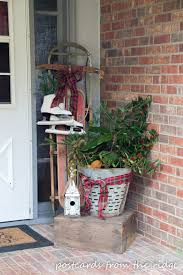 8 creative ways to use vintage olive baskets postcards from the
