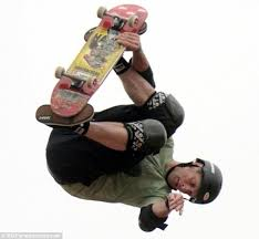 Skateboard Halloween Costumes Put Helmet Moron U0027 Tony Hawk Takes Daughter