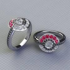 anime wedding ring anime inspired engagement rings pokémon ring and weddings