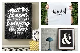 beautifully designed 9 beautiful inspirational quote art prints we love