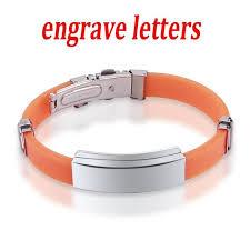 rubber stainless steel bracelet images Valentine stainless steel bracelets for women rubber id bracelet jpg