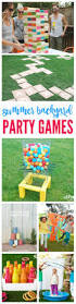 summer backyard party games